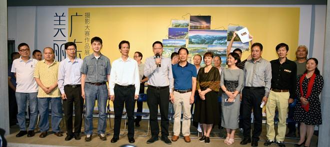 广东省文联巡视员丘克军宣布展览开幕 李满清摄.jpg